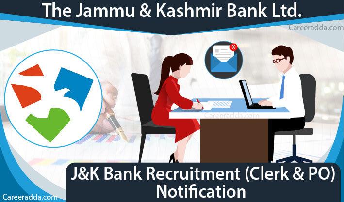 J&K Bank PO & Clerk Recruitment