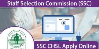 SSC CHSL Apply Online