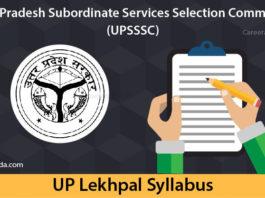 UP Lekhpal Syllabus