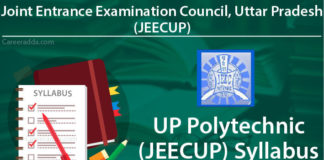 UP Polytechnic - JEECUP Syllabus