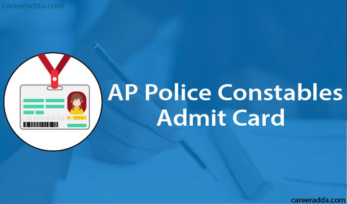 AP Police Constable Hall Tickets