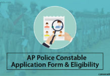 AP Police Constables Application Form