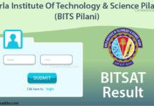BITSAT Results