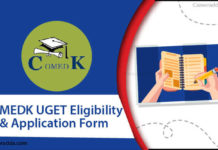 COMEDK UGET Application Form