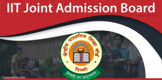 JEE Advanced Application Form