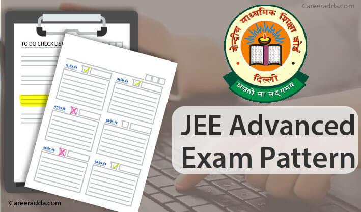 JEE Advanced Exam Pattern
