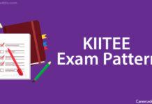 KIITEE Exam Pattern