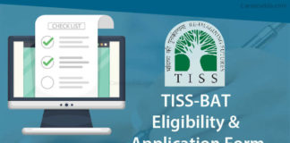 TISS BAT Application Form