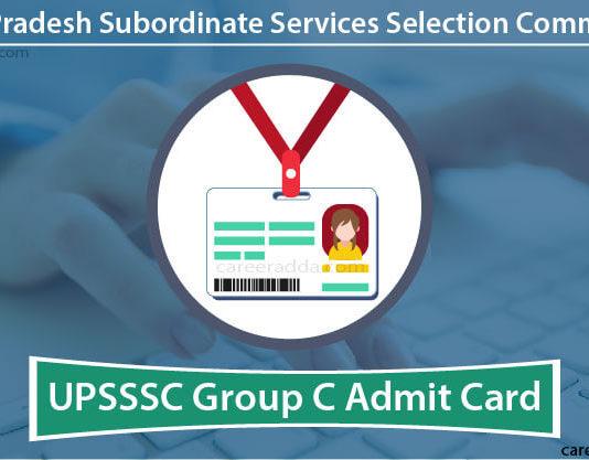 UPSSSC Group C Admit Card