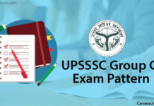 UPSSSC Group C Exam Pattern