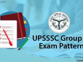 UPSSSC Group C Exam Pattern