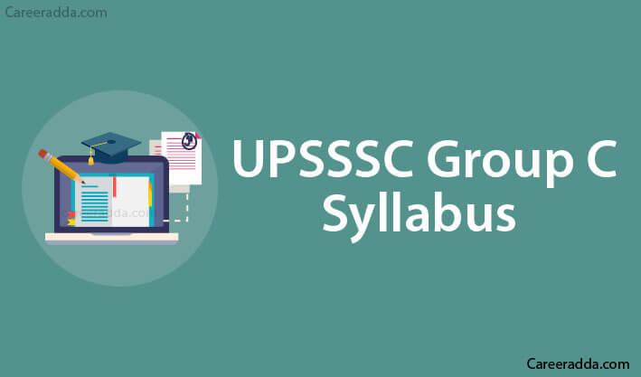 UPSSSC Group C syllabus