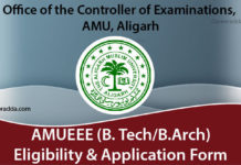 AMUEEE Application form