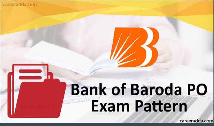 Bank Of Baroda PO Exam Pattern