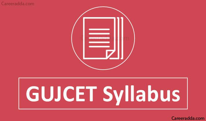 GUJCET Syllabus