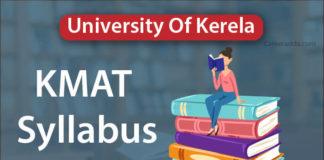 KMAT Kerala Syllabus