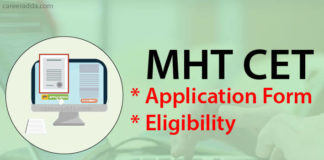 MHT CET Application Form