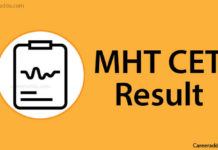 MHT CET Results