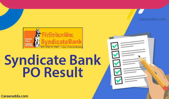 Syndicate Bank PO Results