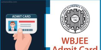 WBJEE Admit Card