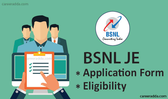 BSNL JE Application Form