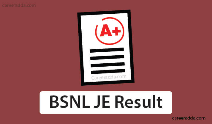 BSNL JE Results