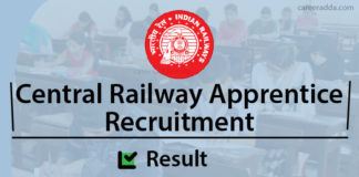 Central Railway Apprentice Results