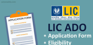 LIC ADO Application Form