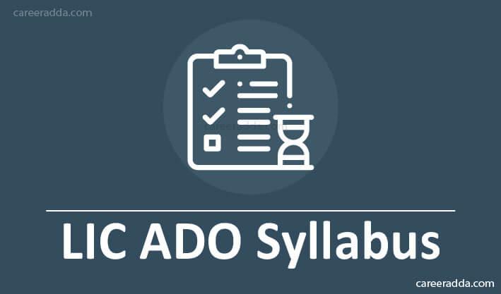 LIC ADO Syllabus