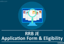 RRB JE Apply Online