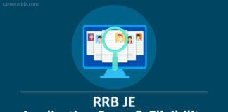RRB JE Apply Online