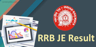 RRB JE Results