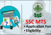 SSC MTS Application Form