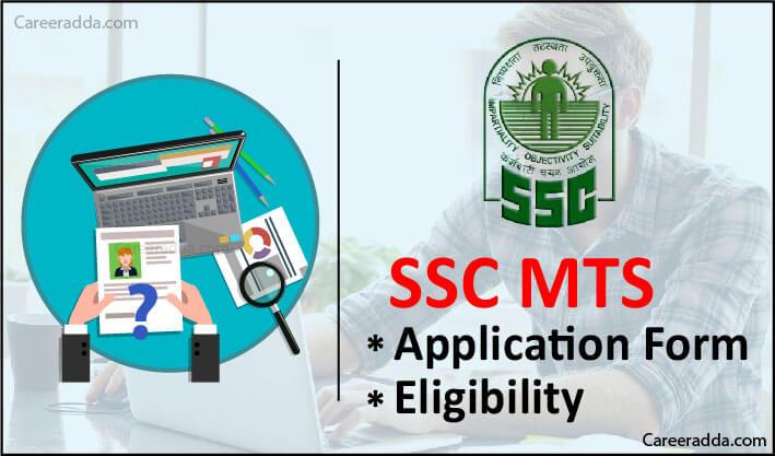 SSC MTS Application Form