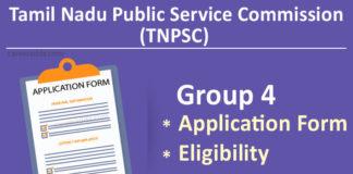 TNPSC Group 4 Apply Online