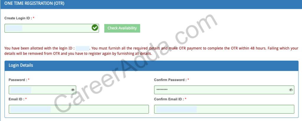 TNPSC Group 4 Registration