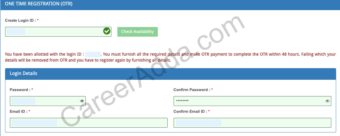 TNPSC Group 4 Registration
