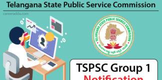 TSPSC Group 1 Notification