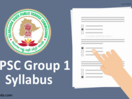 TSPSC Group 1 Syllabus