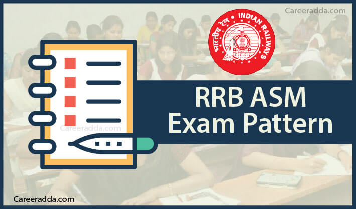 RRB ASM Exam Pattern
