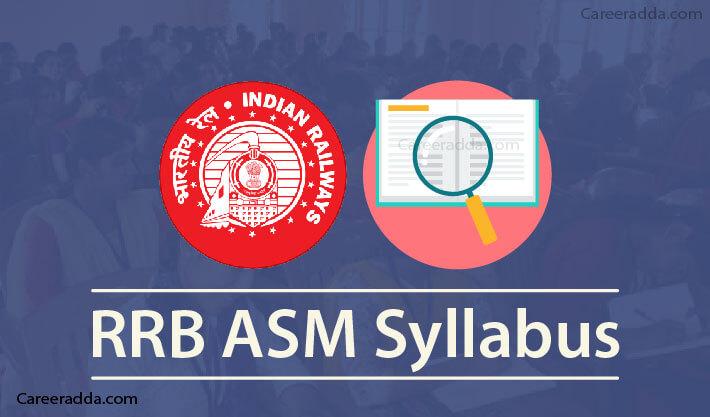 RRB ASM Syllabus
