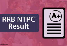 RRB NTPC Results