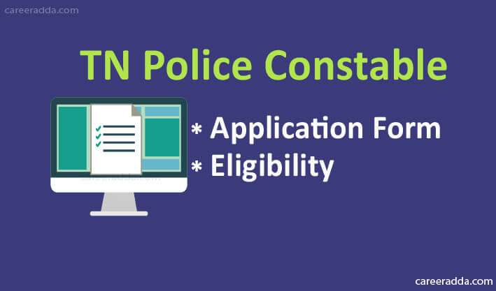 TN Police Constable Application Form