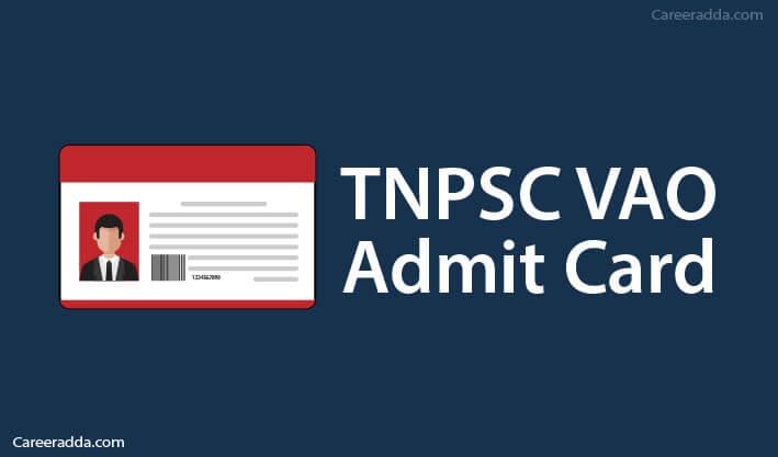 TNPSC VAO Hall Ticket