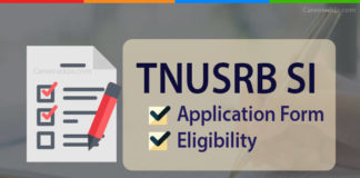 TNUSRB SI Apply Online