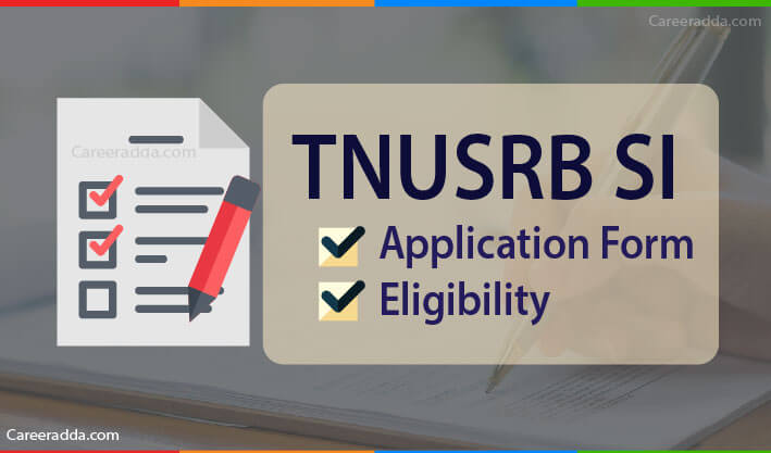 TNUSRB SI Apply Online
