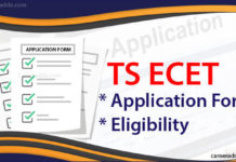 TS ECET Application Form