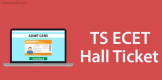 TS ECET hall tickets