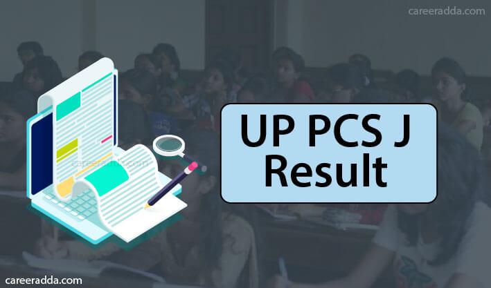 UP PCS J Result