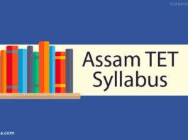 Assam TET Syllabus